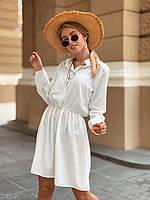 Платье легкое летнее чёрное, белое, пудра 42-44,44-46