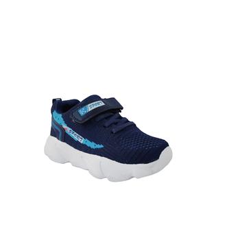Синие текстильные кроссовки  мальчикам, р. 27, 29, 30, 31, 32 Весна-осень-лето ' 20, демисезон
