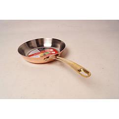 Медная сковорода для жарки (Гермиона) 20 см