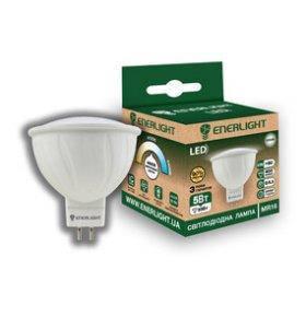 Лампа светодиодная ENERLIGHT MR16 5 Вт 4100K G5.3 Ш.К. 4823093500426
