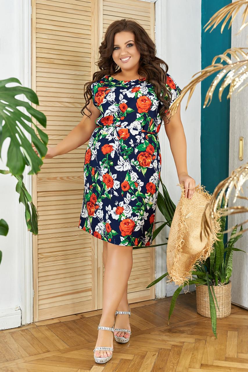 Платье Цветы 05208