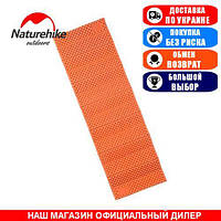 Туристический матрас с алюминиевой пленкой, складной NatureHike; 185x56x1,7см. 1-о местный. Туристический матрас NH18D001-C orange