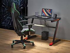 Компьютерный стол B-40 черный (Halmar)