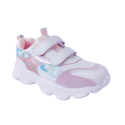 Пудровые кроссовки от Том М девочкам, 33, 34, 35, 36, 37, 38 Весенние, осенние, розовые Томми