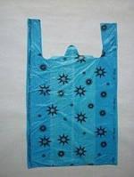 Пакеты Пакеты-майки 36+15х60см Звездочки/Горошек 50 шт 0168621