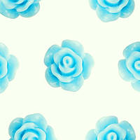 Кабошон 10мм Роза светло голубая, фото 1