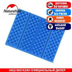 Туристический сиденье-коврик, складное NatureHike; 40,5х30,5х1см. Туристический коврик NH60A060-Z blue