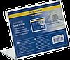 Табличка настольная Именная табличка односторонняя 90х60 мм прозрачная BM.6410-00 Buromax