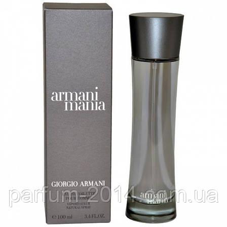 Мужская туалетная вода Giorgio Armani Armani Mania Pour Homme , фото 2