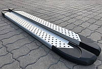 Пороги боковые (подножки профильные) Chevrolet Captiva 2006-2011
