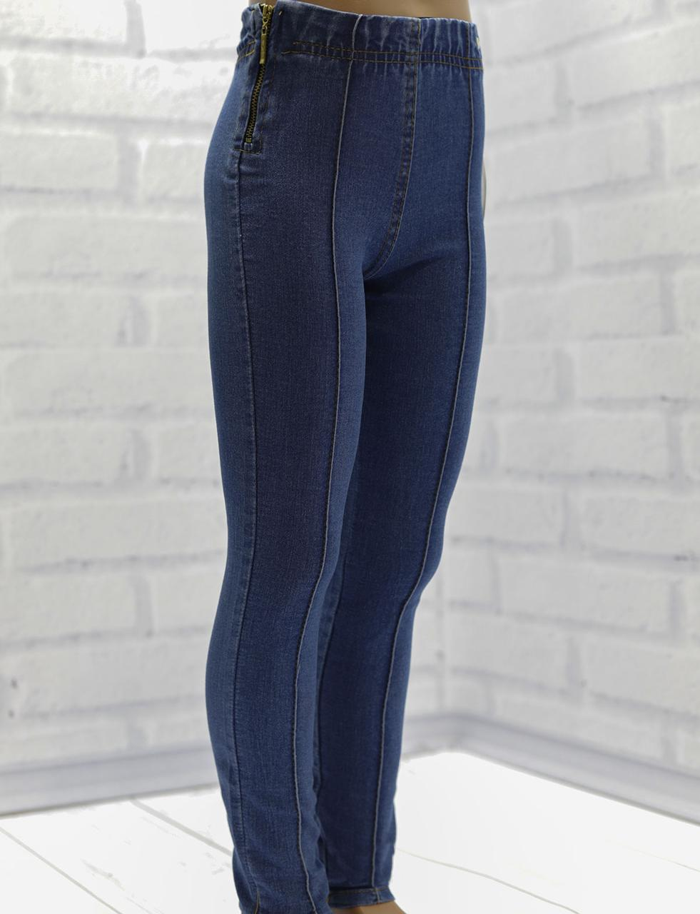 Лосины для девочки джинсовые, коттон, SWT  (размер 3(98))