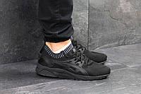 Мужские кроссовки в стиле Asics Black, черные 44 (28 см)