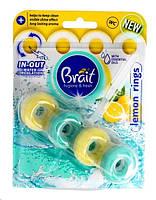 Туалетный блок Brait Lemon Rings, 40 г