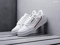 Мужские кроссовки в стиле Adidas Continental 80, белые 44 (28 см)
