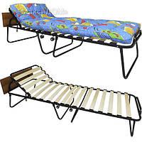 Раскладушка кровать «Альфа 70», фото 1