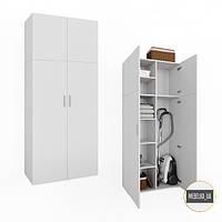 Шкаф для одежды распашной, шкаф с полками, для спальни, офиса KV0085