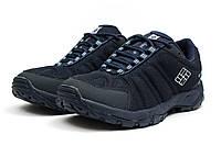 Мужские кроссовки в стиле Columbia Omni-Grip, тёмнo-cиние 42(26 см), последний размер