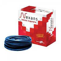 Nexans TXLP/2R - 600 Вт  кабель нагревательный двужильный   длинна - 35,2   м  S= 4,4, фото 1