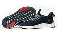 Мужские кроссовки в стиле BaaS Ploa, текстиль, пена, синие с белым 43 (стелька 27,5 см)