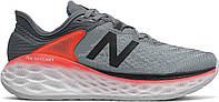 Кроссовки/Кеды (Оригинал) New Balance Fresh Foam More v2 Gunmetal/Neo Flame, фото 1