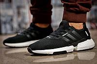 Мужские кроссовки в стиле Adidas POD - S3,1, черные 46 (стелька 29,5 см)
