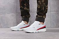 Мужские кроссовки в стиле Fila Training, текстиль, белые с красным 46(28,8 см), последний размер