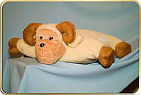 Подушка-игрушка из овечьей шерсти