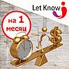 Експрес-продаж на дошці оголошень Let-Know на 1 місяць