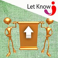 Размещение баннера сверху на доске объявлений Let-Know на 1 месяц