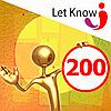 Розміщення 200 позицій на дошці оголошень Let-Know на 1 місяць