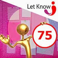 Розміщення 75 позицій на дошці оголошень Let-Know на 1 місяць