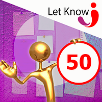 Размещение 50 позиций на доске объявлений Let-Know на 1 месяц