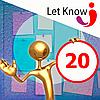 Розміщення 20 позицій на дошці оголошень Let-Know на 1 місяць
