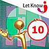 Размещение 10 позиций на доске объявлений Let-Know на 1 месяц