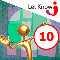Розміщення 10 позицій на дошці оголошень Let-Know на 1 місяць
