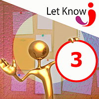 Розміщення 3 позицій на дошці оголошень Let-Know на 1 місяць