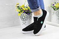 Женские кроссовки в стиле Converse, черные 36(23,2 см), размеры:36,38
