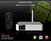 Android TV Box 1.2GHz 1080P H.264 Video Media Player (тюльпаны + hdmi), фото 1