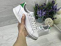 Женские кроссовки в стиле Vans, белые 38 (24,5 см по стельке)