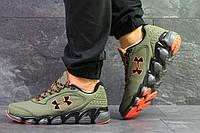 Мужские кроссовки в стиле Under Armour, зеленые 43(27,7 см), последний размер