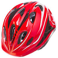Шлем защитный с механизмом регулировки (L-54-56) SK-5611, красный, фото 1