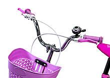"""Велосипед 16 """"SHENGDA"""" Pastel Pink T18, Ручной и Дисковый Тормоз, фото 3"""