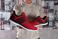 Мужские кроссовки в стиле Reebok, текстиль, красные 44(28,5 см), размеры:44,45