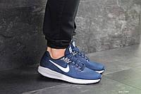 Мужские кроссовки в стиле Nike Air Zoom Structure 21, сетка, пена, синие 43 (27,5 см)