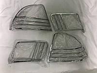 Carmos Honda Civic Накладки на стопы (пласт.)