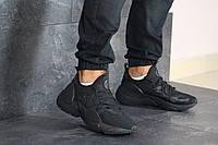 Мужские кроссовки в стиле Nike Air Huarache, текстиль, пена, черные 44 (28,5 см)