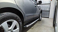 Боковые пороги Fullmond Hyundai Santa Fe 2006-2020