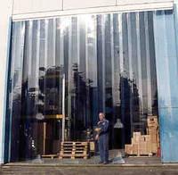 Полосовые ленточные завесы ПВХ (стандратные) 200мм х 2мм