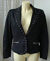 Пиджак женский модный жакет хлопок бренд Bay р.48-50 3505, фото 1