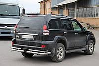 Toyota Prado 120 Задние двойные уголки 2 шт нерж AK003-1